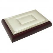 Joyero madera plata [4316]