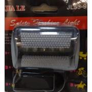 Bicikli lámpa hátsó fehér 5 Led- JL53-9