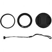 Kiwi KWF-P600 62mm UV Filter + Lens Adapter Ring Cap Set For Nikon Coolpix P600 P610s P610 Camera