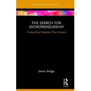 The Search for Entrepreneurship: More Questions Than Answers