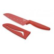 Colori Santoku Chef's Knife in Red 22834