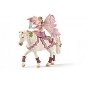 Schleich 70519 - Feya con Abito della Festa a Cavallo