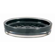 Jabonera acrílica negra | Accesorios de cuarto de baño