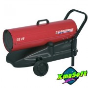 Generator mobil aer cald cu ardere directa pe motorina 20 kW