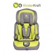 Столче за кола KinderKraft Comfort зелено