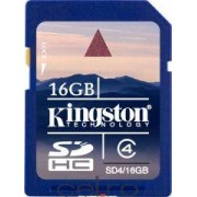 Card de Memorie Kingston SDHC 16GB Class4