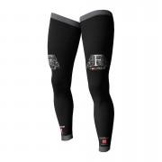 Compressport F-Like Full Leg Compression Guards Black T4 Plus