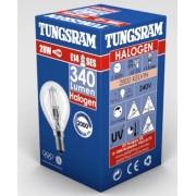 Tungsram Halogén Gömb izzó 30W E14 230V