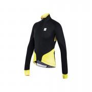 Santini Beta Windstopper XFree 210 Jacket - Black/Yellow - L