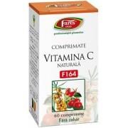 Vitamina C naturala comprimate masticabile F164 Fares
