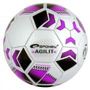 AGILIT Fotbalový míč fialový vel.5 Spokey