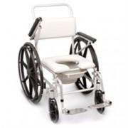 sedia disabili per doccia e wc ad autospinta