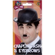 Smiffy's - Disfraz de Charlie Chaplin para hombre, talla única (1905)