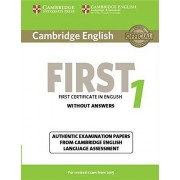 Cambridge English Language Assessment Cambridge English First 1 for Revised Exam from 2015 Student's Book without Answers (FCE Practice Tests)