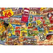 Puzzle Route 66, 1000 piese, RAVENSBURGER Puzzle Adulti