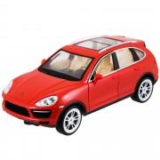 Masinuta cu telecomanda Race-Tin, Porsche Cayenne Turbo S, Rosu, 1:16