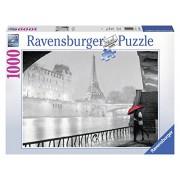 Ravensburger 19471 - Puzzle 1000 Pezzi, Parigi e la Senna, Cartone