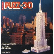 Mini-Puzz 3D Empire State Building (42 Pieces)