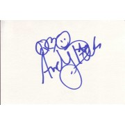 Andy Dick Autographed Index Card