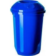 Cos gunoi colectare selectiva 40 l rotund albastru