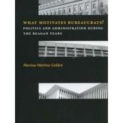 What Motivates Bureaucrats? by Marissa Martino Golden