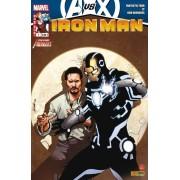 """Iron Man N° 7 ( Avengers Vs X-Men ) : """" Longue Est La Route """" ( Iron Man / Fantastic Four / La Fondation Du Futur / New Avengers )"""