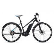 Cube Cross Hybrid Pro Allroad 500 E-hybride fietsen Trapez zwart 50 cm 2017 Elektrische hybride fietsen