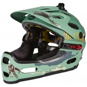 Bell Super 2R Mips Star Wars - Cascos integrales - Limited Edition verde 55-59 cm Cascos integrales