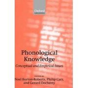 Phonological Knowledge by Noel Burton-Roberts