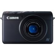 """Canon POWERSHOT N100 - Cámara compacta de 12.1 Mp (pantalla táctil de 3"""", zoom óptico 5x, estabilizado, WiFi, GPS), Negro - con segunda cámara trasera"""