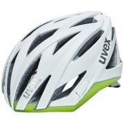 UVEX ultrasonic race Helm Damen white mat-green 55-58 cm Fahrradhelme