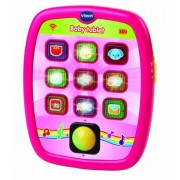 Vtech Baby - Tablet para bebés, 9-26 meses, color rosa (3480-138257)