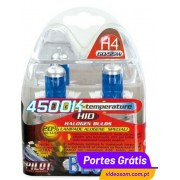 LAMPA H4 4.500K Blue Xenon ( 2 Lâmpadas )