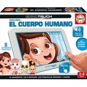 Educa Borrás - Educa Touch Jr Cuerpo Humano, colección de juegos educativos electrónicos (16990)