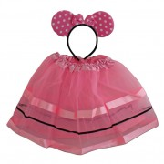 Pink Minnie Mouse Tutu And Ears