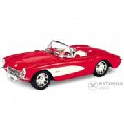 Mașinuță Welly Chevrolet Corvette 1957, 1:24