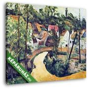 Paul Cézanne: Kanyar (30x25 cm, Vászonkép )