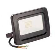 Luminea Mini projecteur LED résistant aux intempéries - 20 W - Blanc chaud