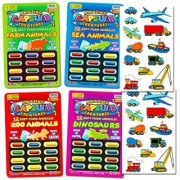Grow In Water Toys Party Favor Set -- 48 Animal Capsule Creatures (Includes Zoo Animals Sea Animals Dinosaurs and Farm