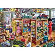 """Gibsons - Puzzle, soggetto: """"The Toy Shop"""", 1000 pz."""