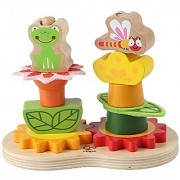 Hape - Early Explorer - Garden Stacker Wooden Toy