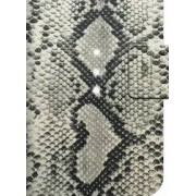 Husa Safari Snake White Diamond Samsung Galaxy S6 G920 Gri