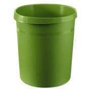 Cos de birou pentru hartii, 18 litri, HAN Grip - verde