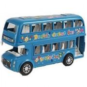 Lovely Lucky Double Decker Bus (Multicolor)