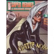Marvel Super Heroes : La Collection Officielle N° 20 : La Chatte Noire / The Black Cat ( Revue Vendue Seule, Sans Figurine )