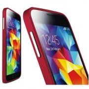 Bumper metalic pentru Samsung Galaxy S5 / S5 Neo - Visiniu