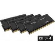 Memorie HyperX Predator Black 32GB Kit 4x8GB DDR4 2133MHz CL13