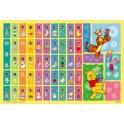 The [Series conspicuously]! DC-52L-023 Let's Play with Hiragana and 52 piece Large size Winnie the Pooh (japan import)