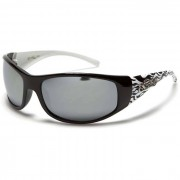 Choppers zonnebril Black White Flames CH71
