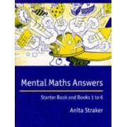Mental Maths Answer book: Answers by Anita Straker